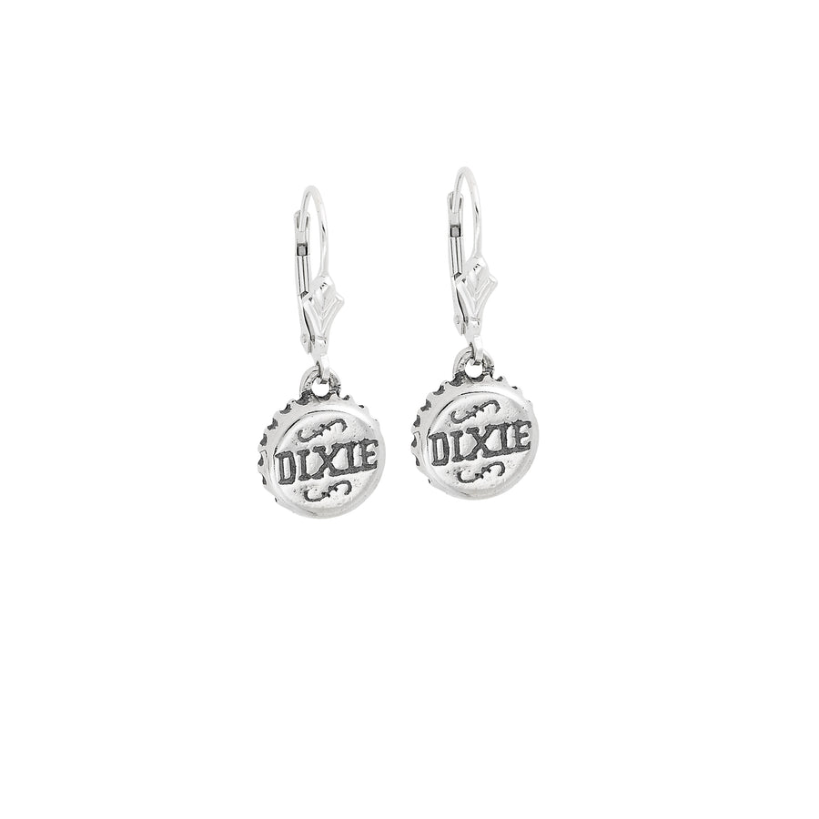 Dixie Bottle Cap Earrings