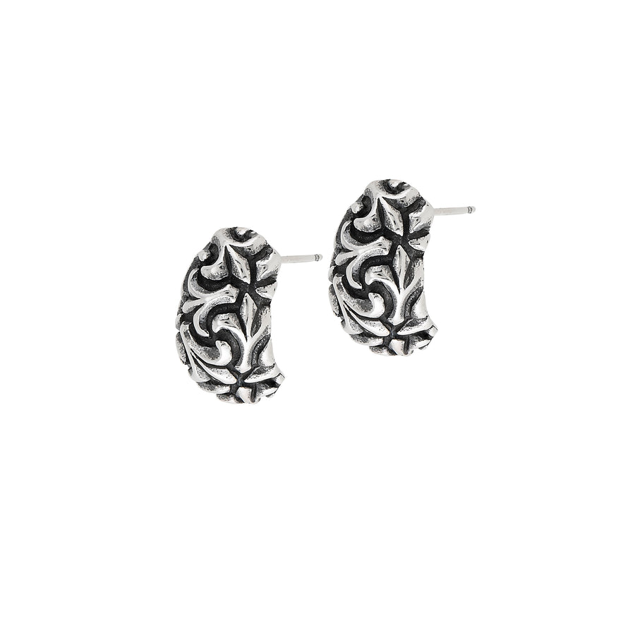 Fleur de Lis Beaucoup Medium Post Earrings