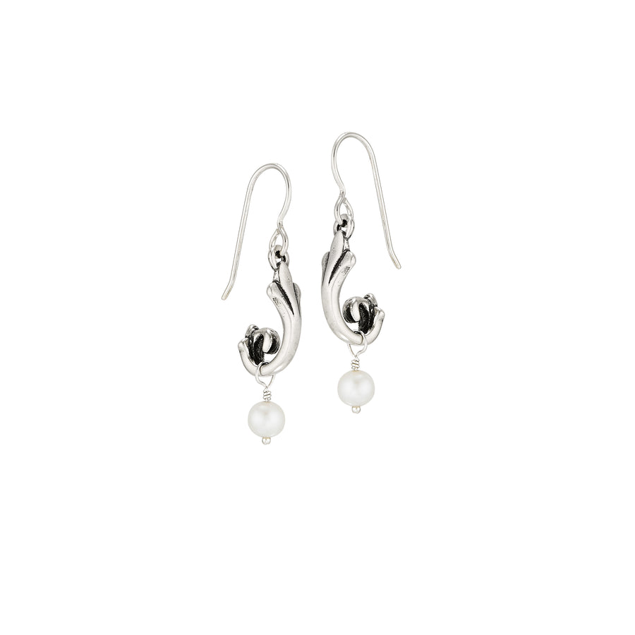 Vieux Carre Drop Pearl Earrings