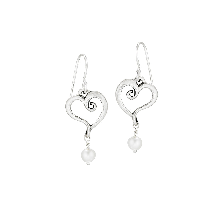 Nouveaux Heart Earrings