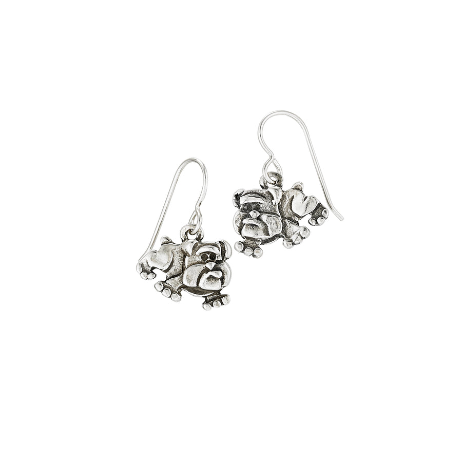 Raining Bulldog Earrings