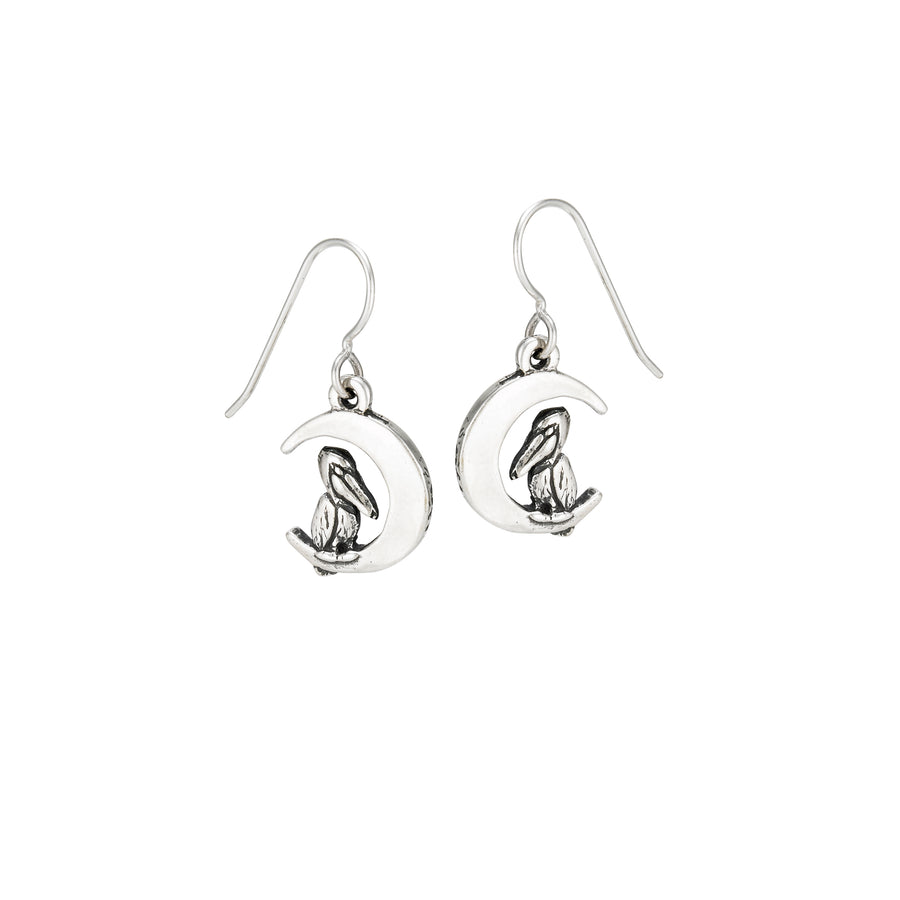 Pelican Moon Earrings