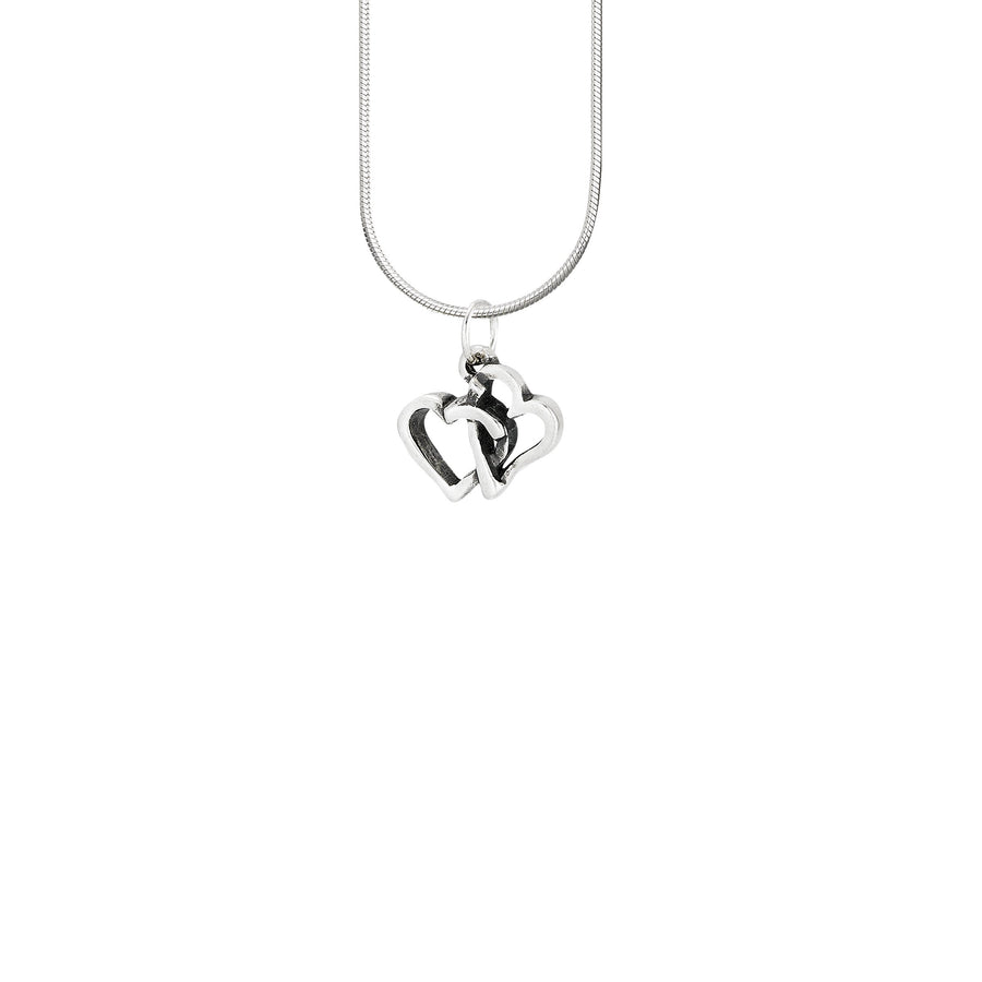 Image of Eternal Love Intertwined Hearts Pendant