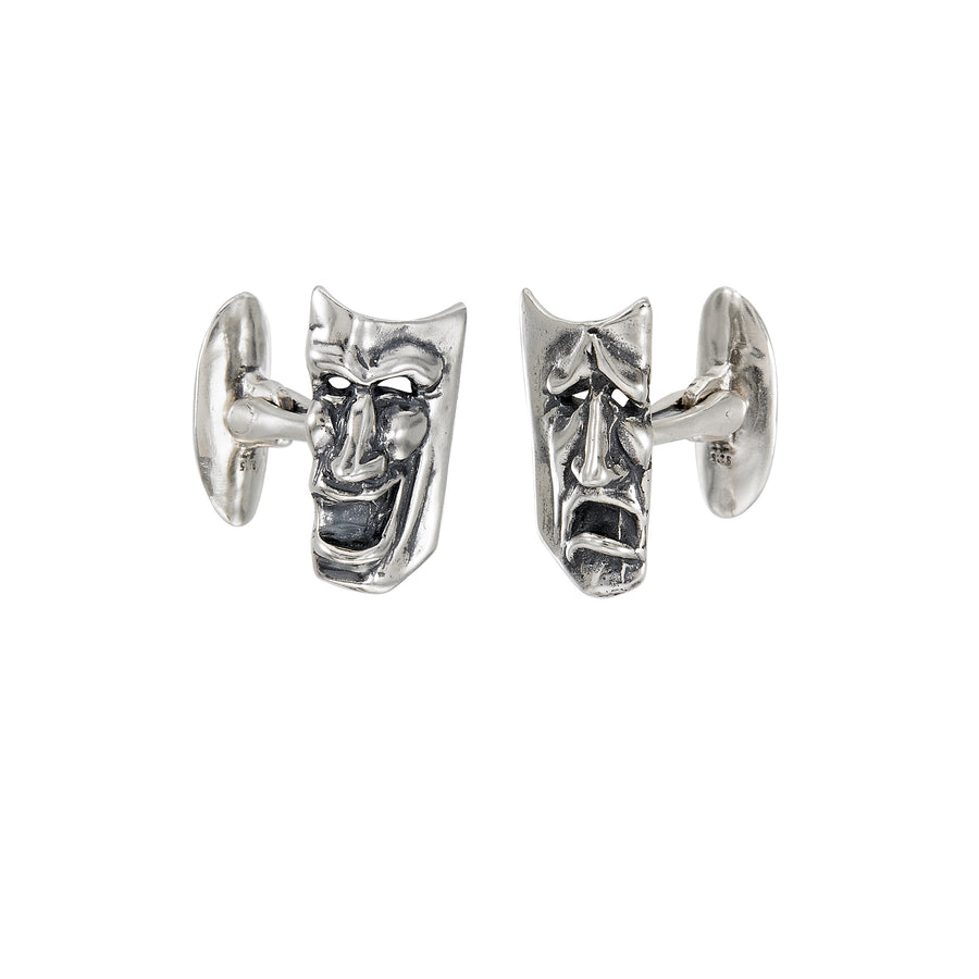 Comedy & Tragedy Large Cuff Links