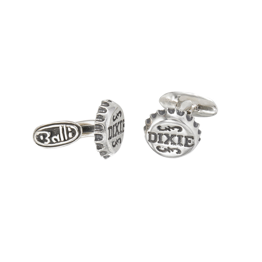 Dixie Bottle Cap Cuff Links