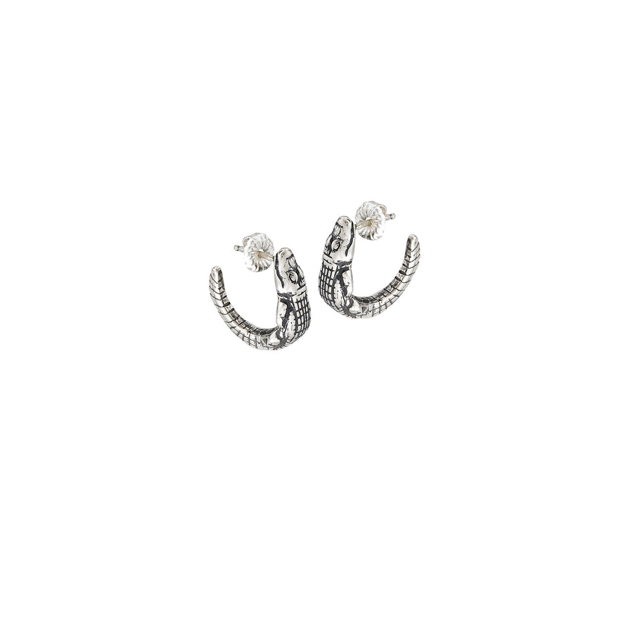 Image of Gator Hoop Earrings