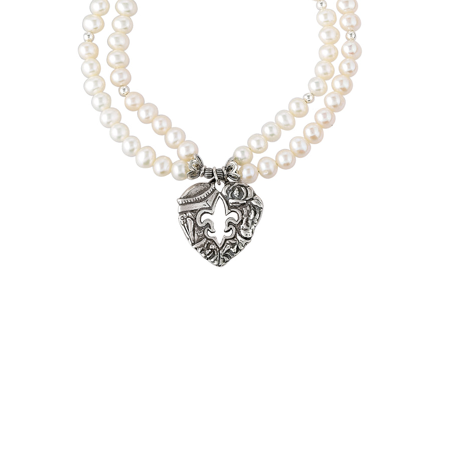 Heart of Louisiana Pearl Necklace
