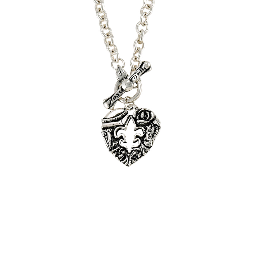Heart of Louisiana Toggle Necklace