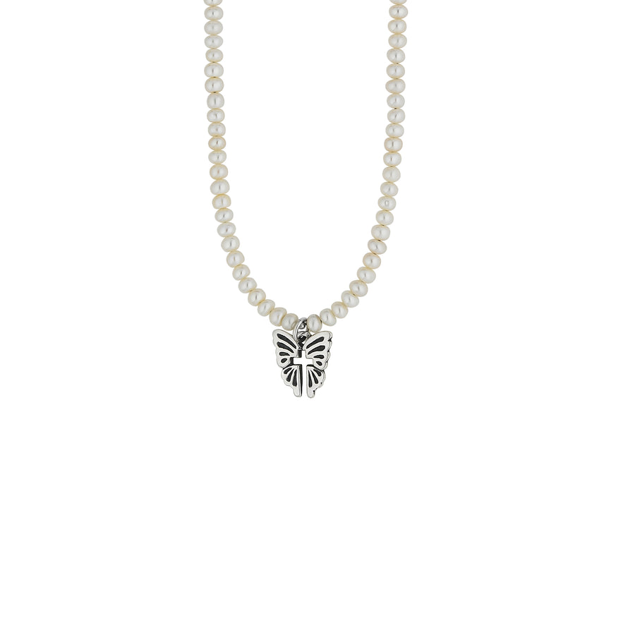 NEW Wings of Faith Pearl Necklace