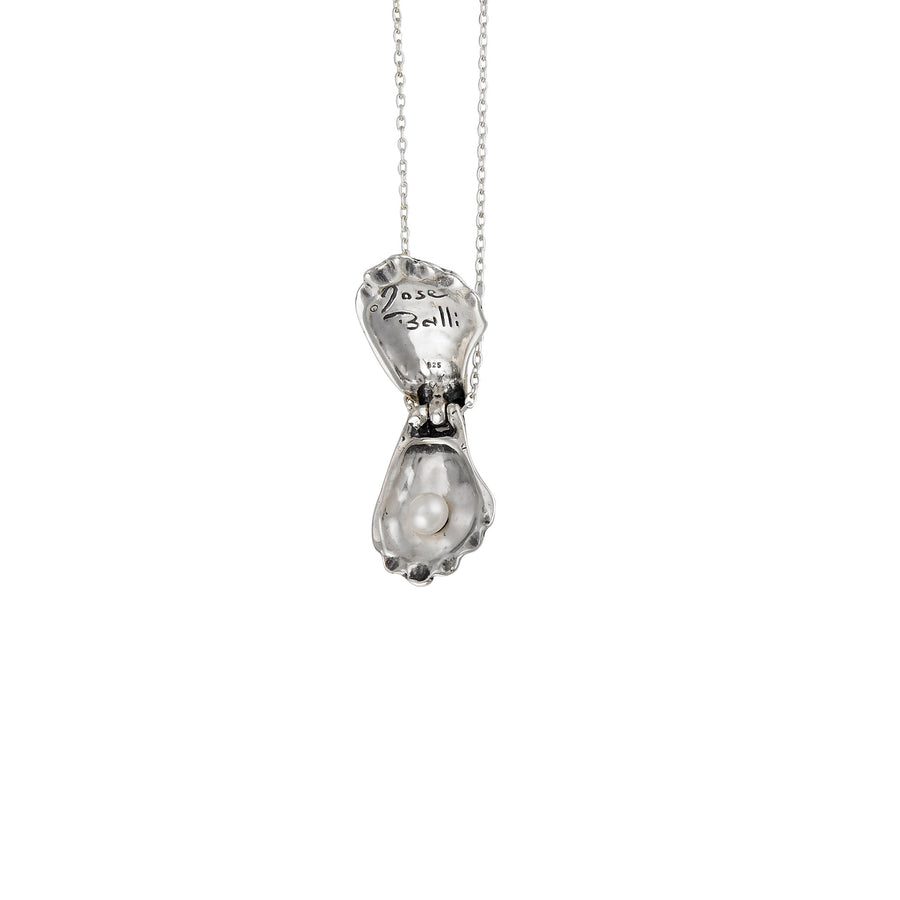 Image of Opened Oyster Locket Necklace