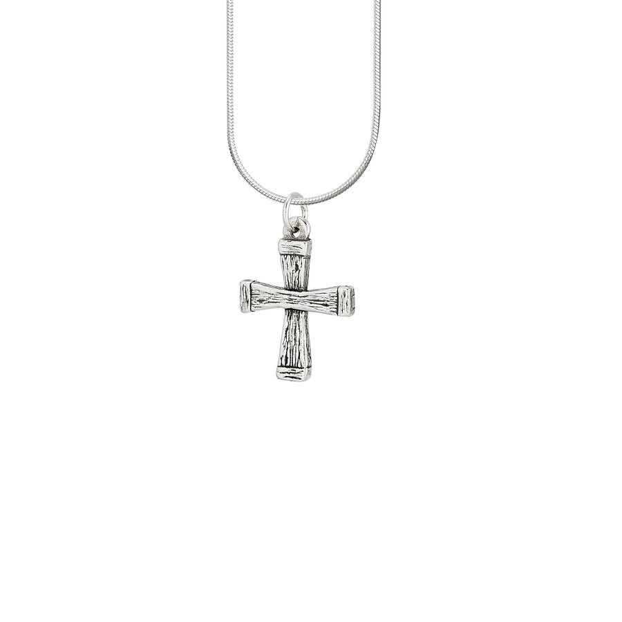 Wooden Cross Pendant