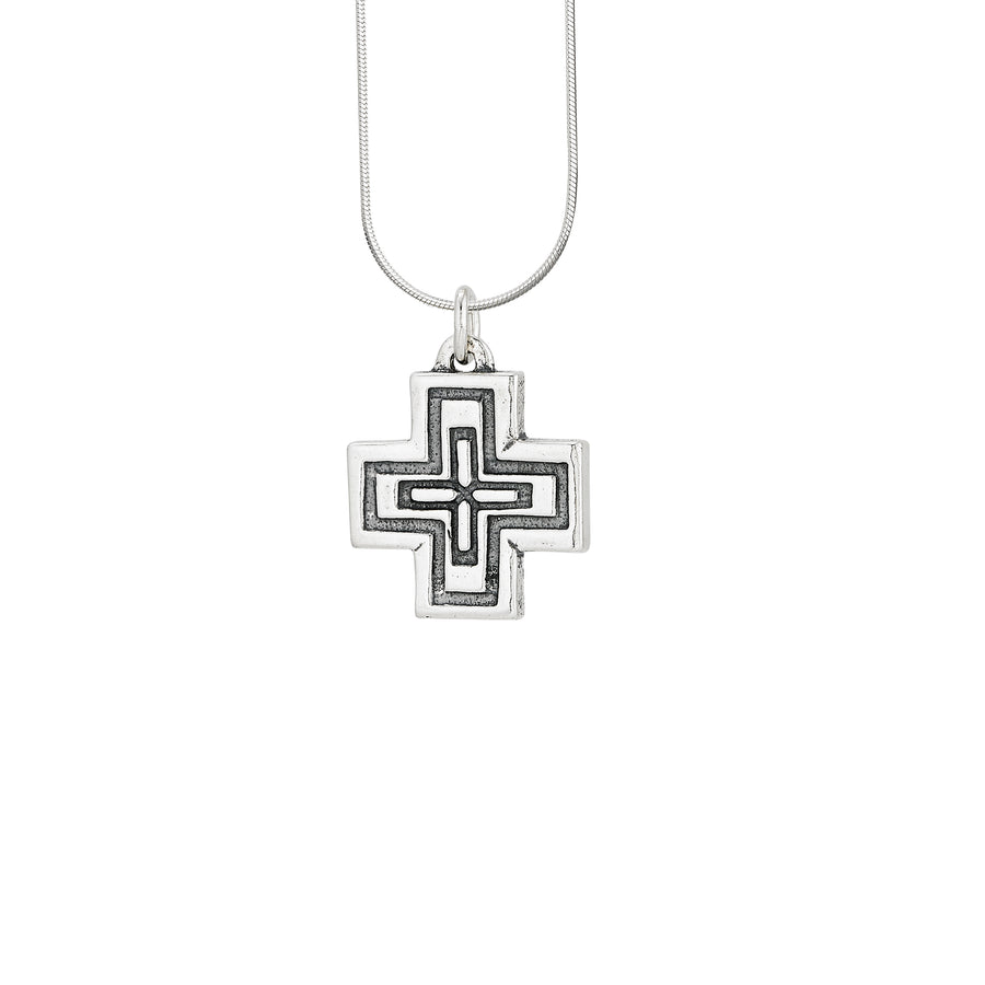 Ethiopian Cross Large Pendant