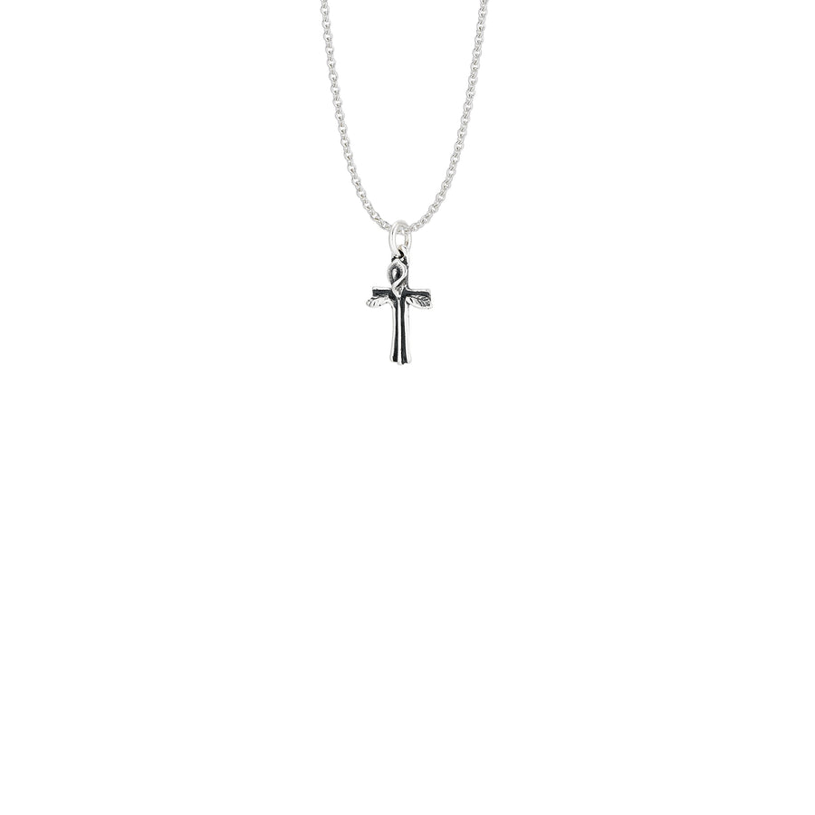 Calla Lily Cross Small Pendant