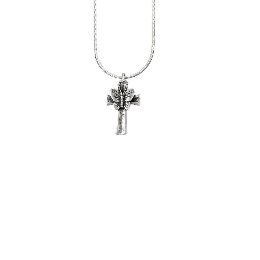 Butterfly Cross Pendant