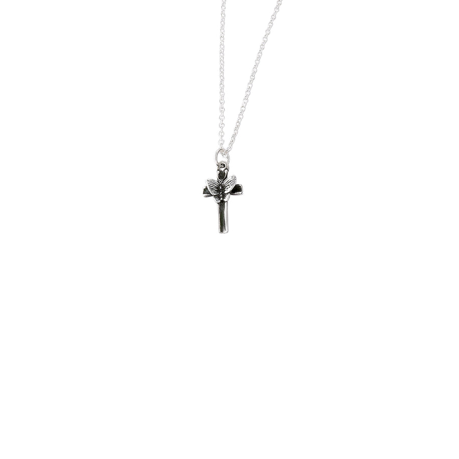 Butterfly Cross Small Pendant