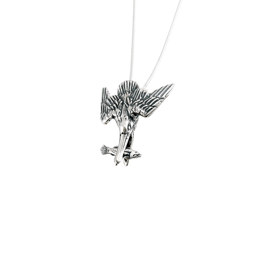Pelican Diving Necklace