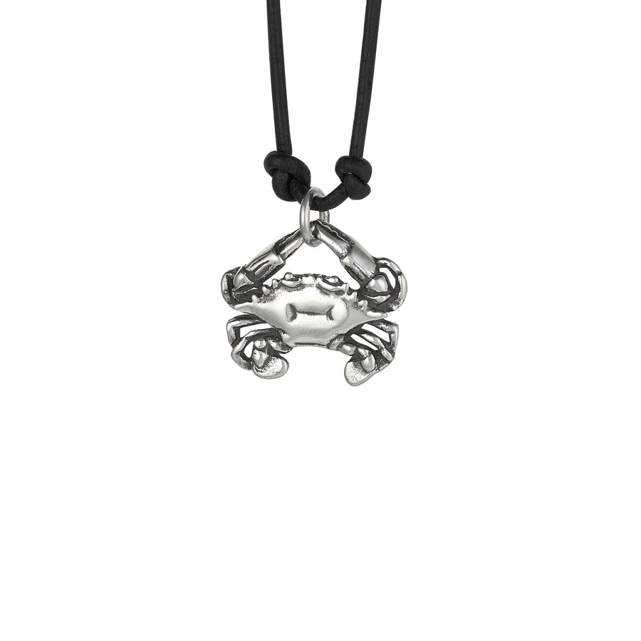 Crab X-Large Pendant on Cord