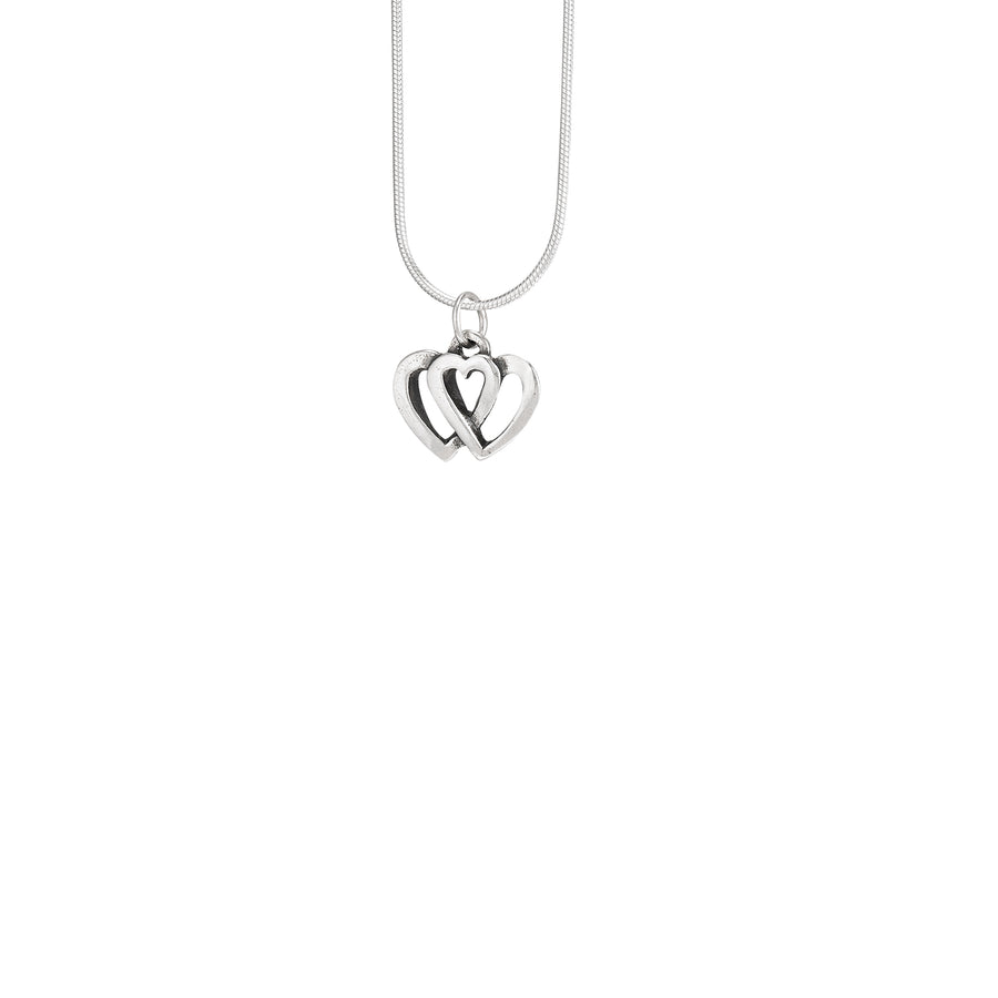 Two Hearts that Beat as One Pendant