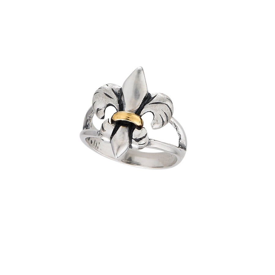 Tiger Lily 2-tone Ring