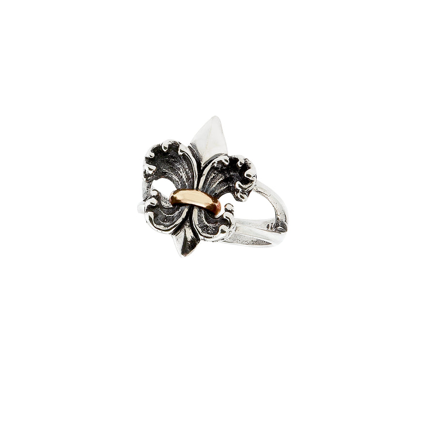 Water Lily 2-tone Ring