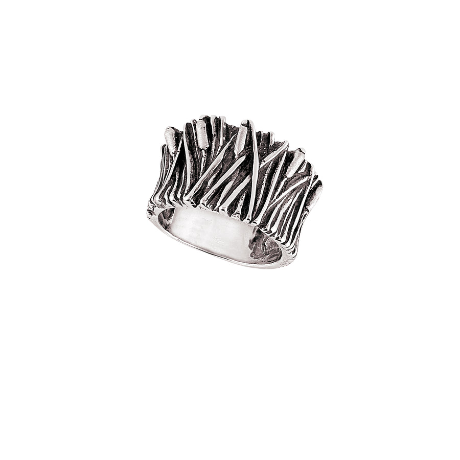 Cattails Wide Ring