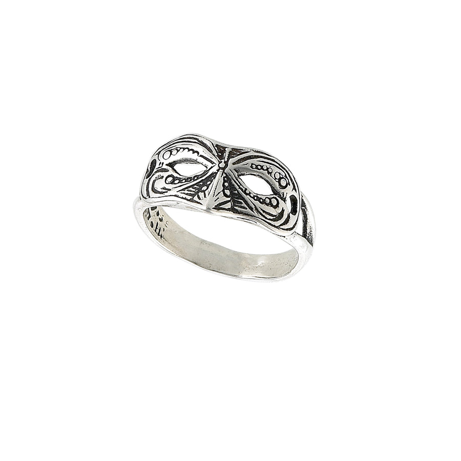 Mask Scroll Ring