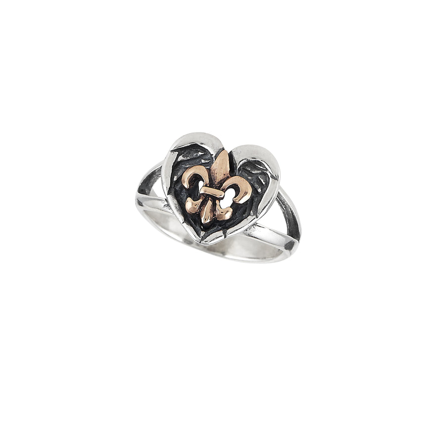 Saints & Angels 2-tone Ring