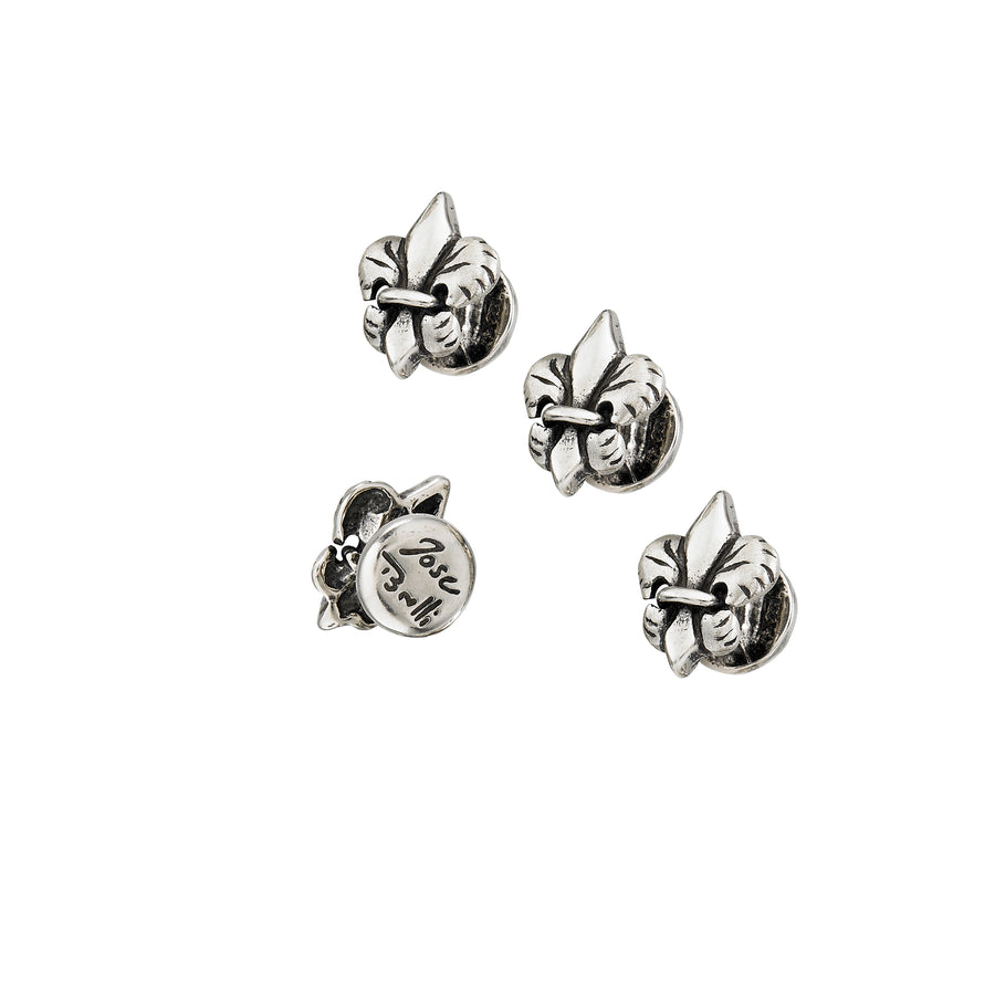 Tiger Lily Tuxedo Studs