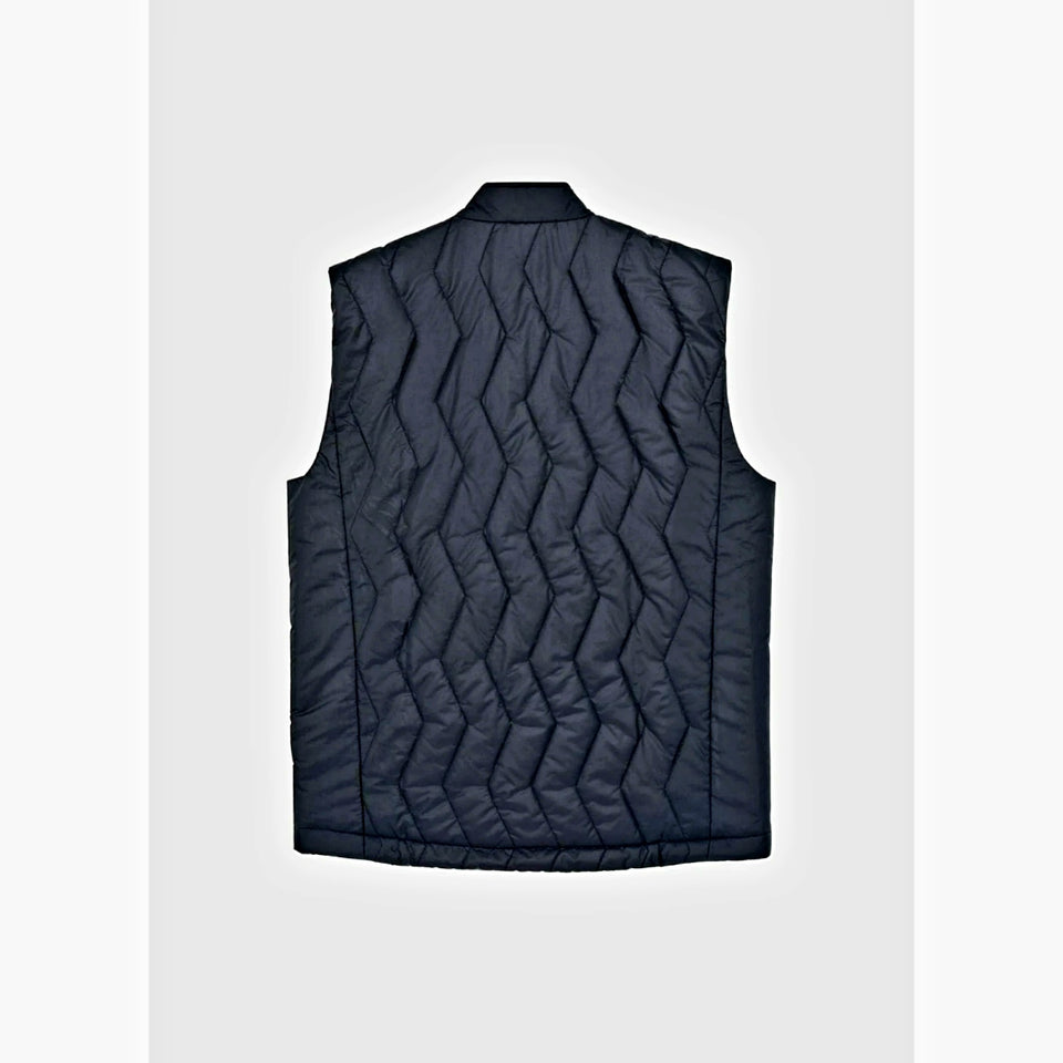 Raeburn Padded Bubble Gilet - Black