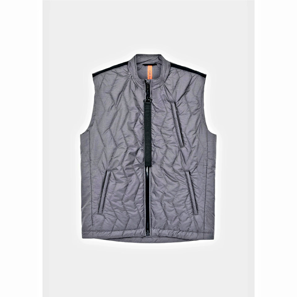 Raeburn Padded Bubble Gilet - Grey