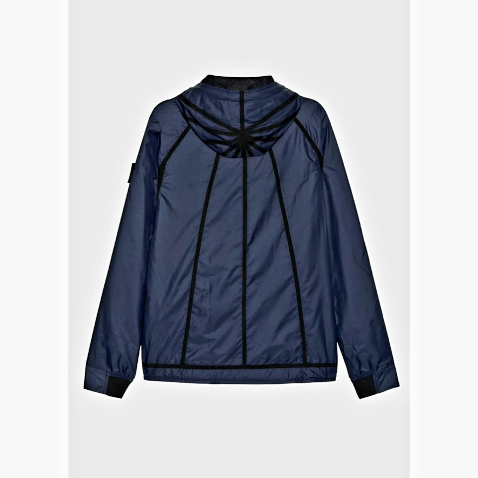 Raeburn Lightweight Hooded Windbreaker - Navy