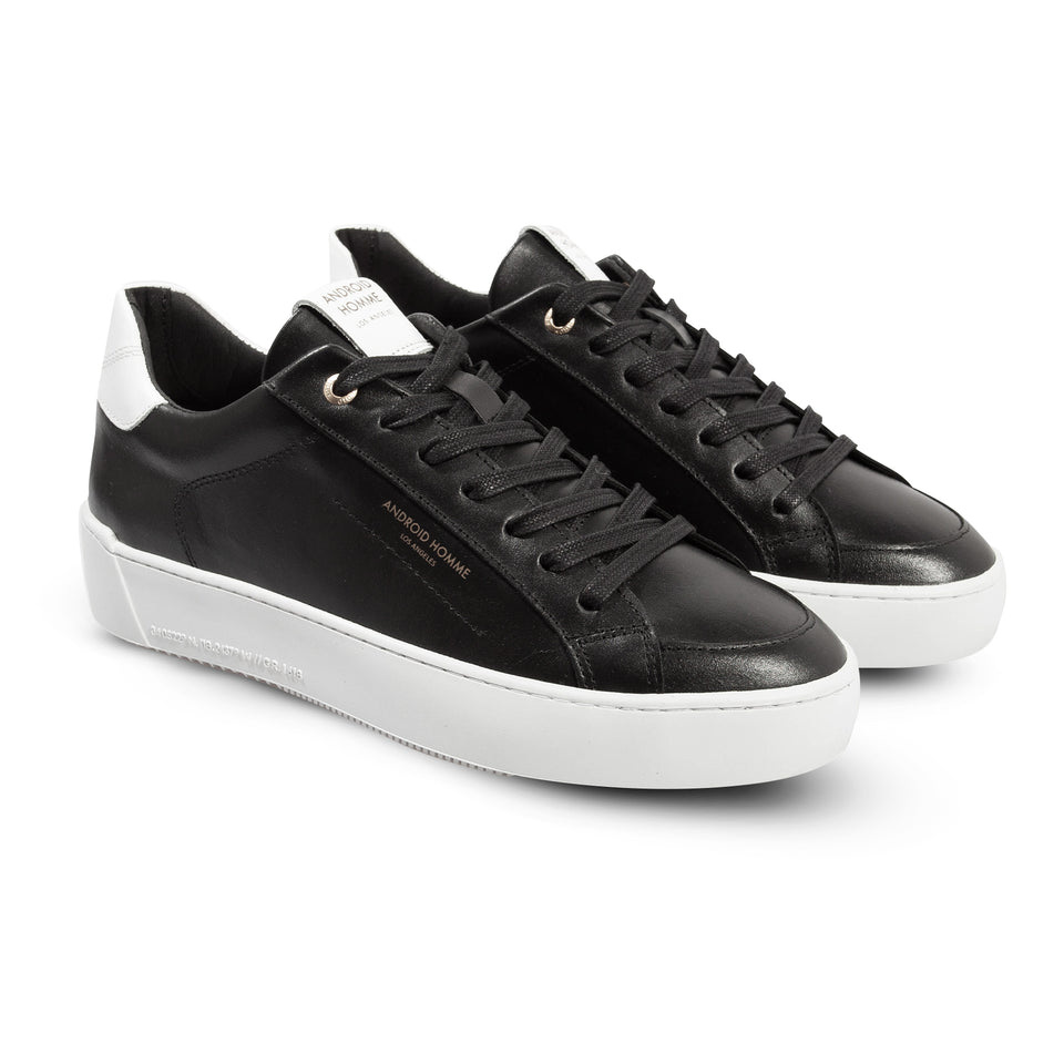 Android Homme Zuma Low Trainers - Black/White