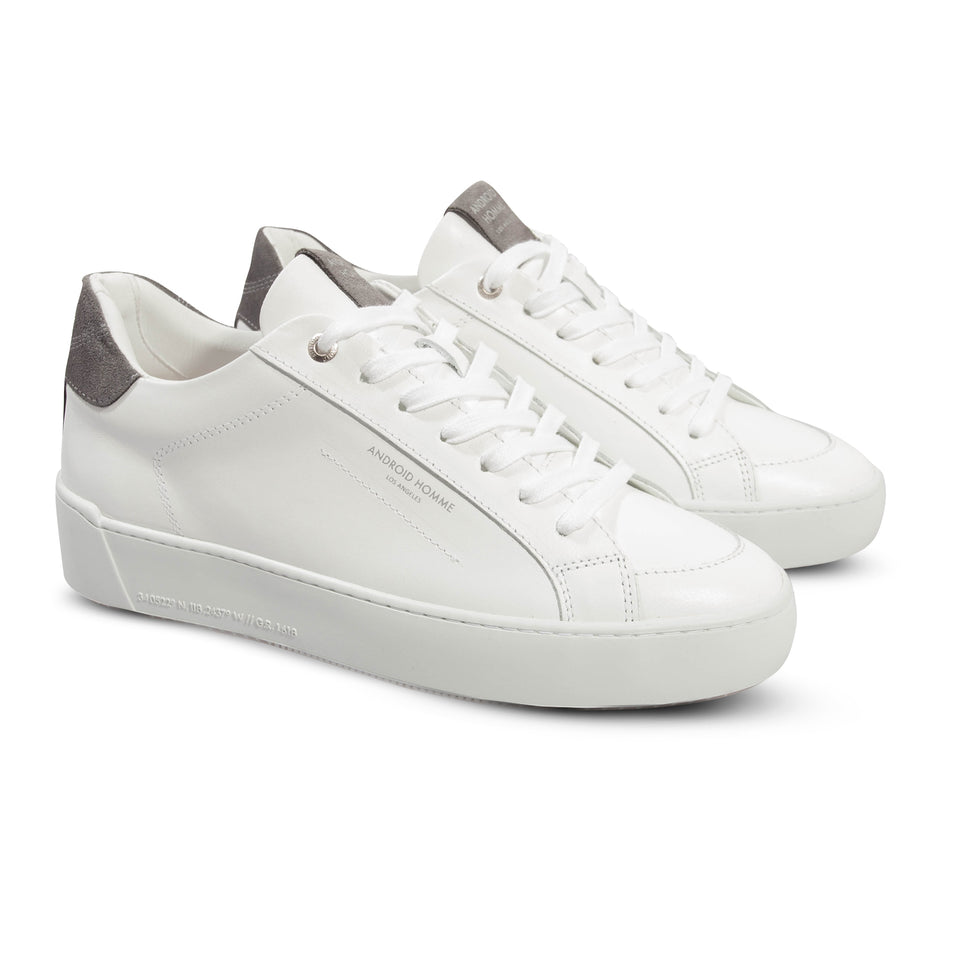 Android Homme Zuma Low Trainers - White