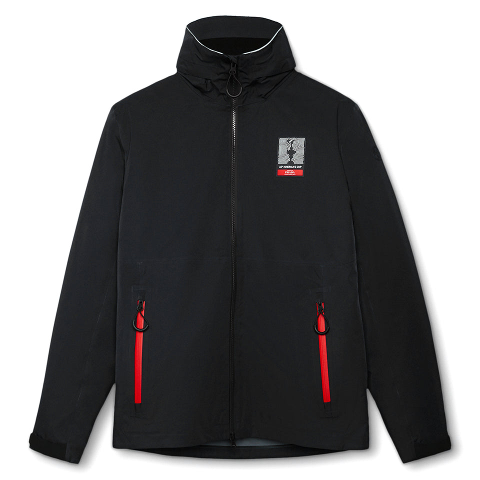 AC36 Presented By Prada Auckland Zip Coat - Black