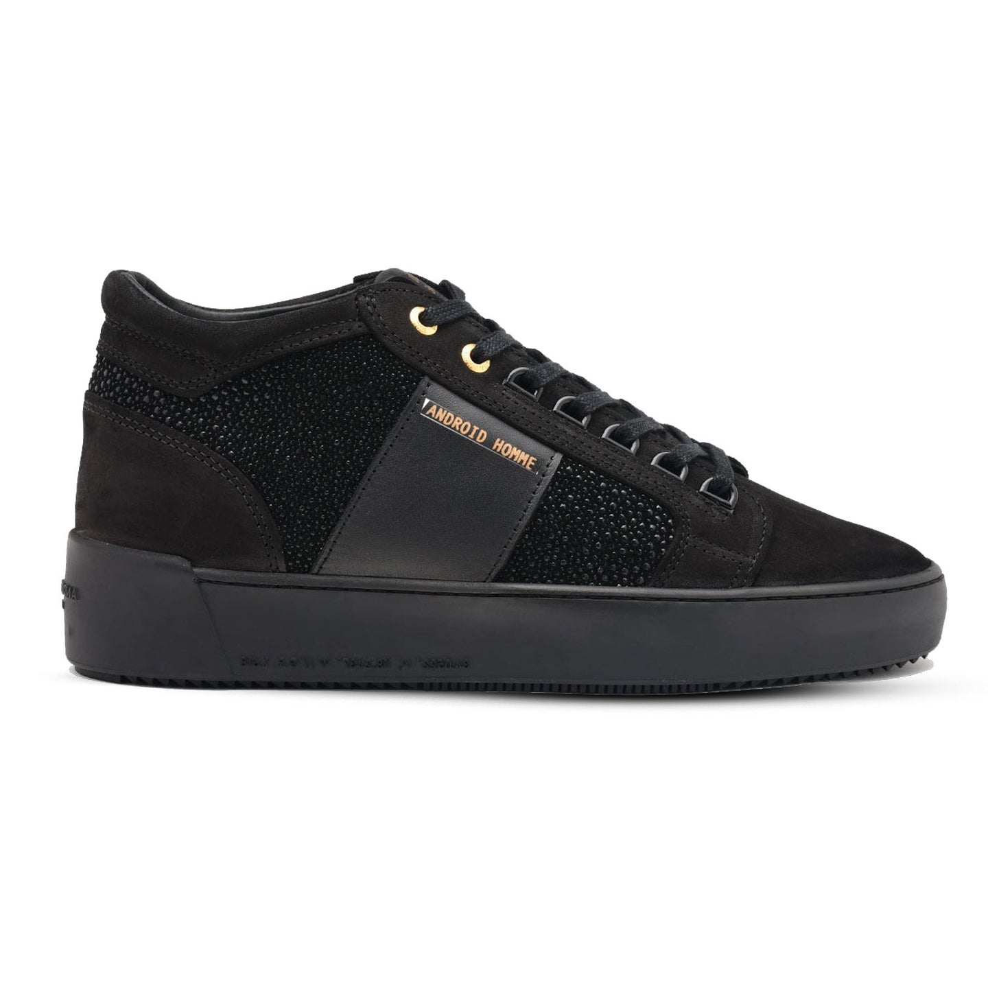 Black Android Homme Propulsion Geo Stingray Trainers