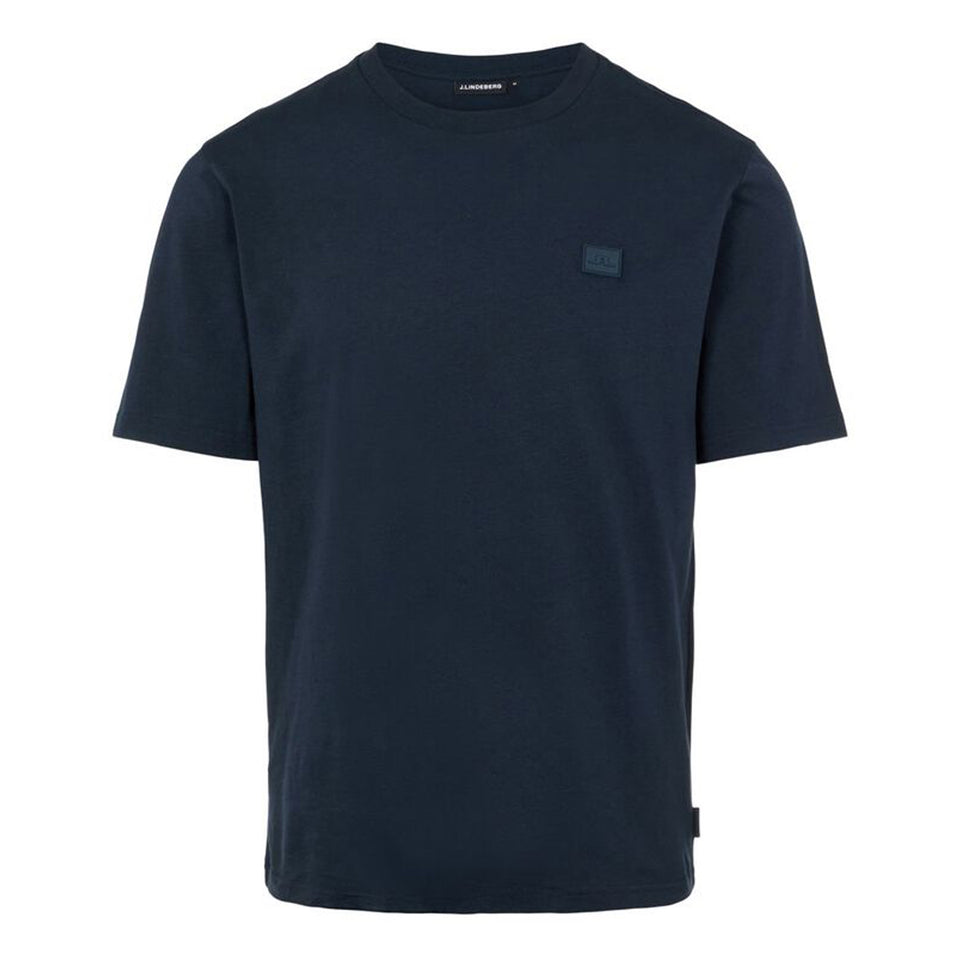 J.Lindeberg Dale Patch Logo T-Shirt Navy