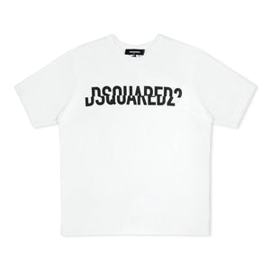 Dsquared2 Sliced Logo T-Shirt - White