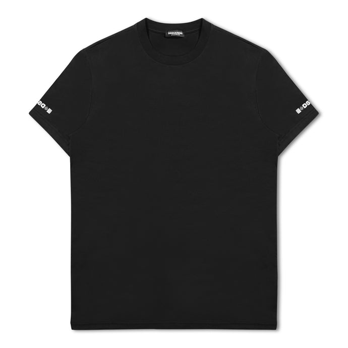Dsquared Round Neck T-shirt - Black