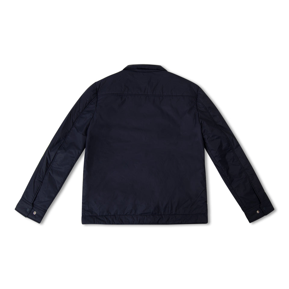 J.Lindeberg Dolph Swan Air Shirt Jacket - Navy