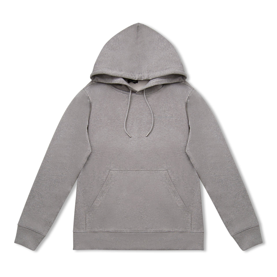 J.Lindeberg Throw Hood Sweat - Grey Melange