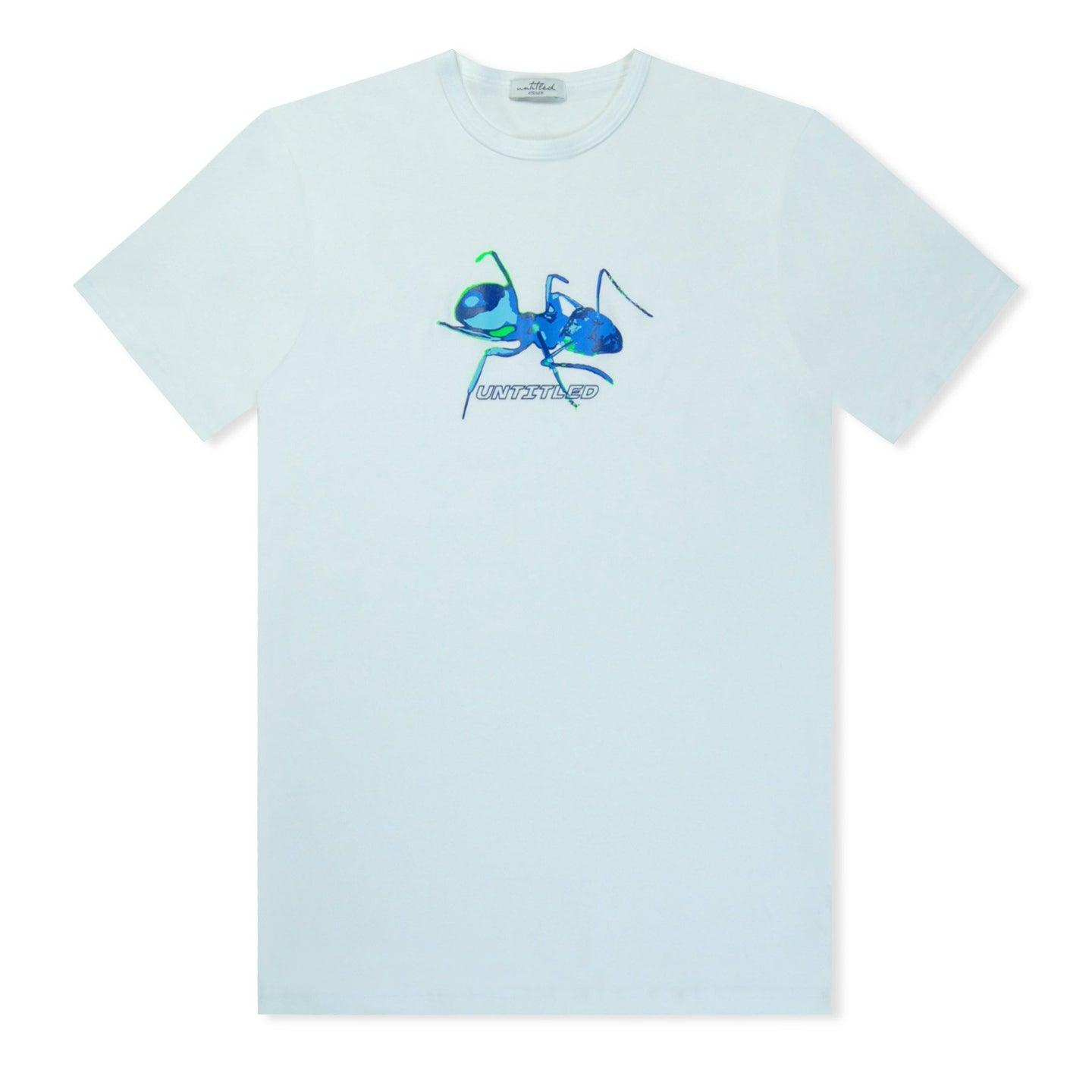 Untitled Atelier White Ant Printed T-Shirt