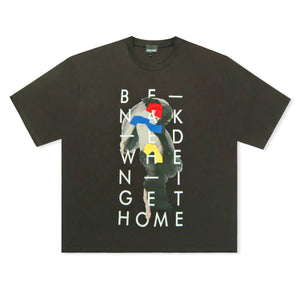 Black Just Cavalli Be Naked When I Get Home Logo T-Shirt