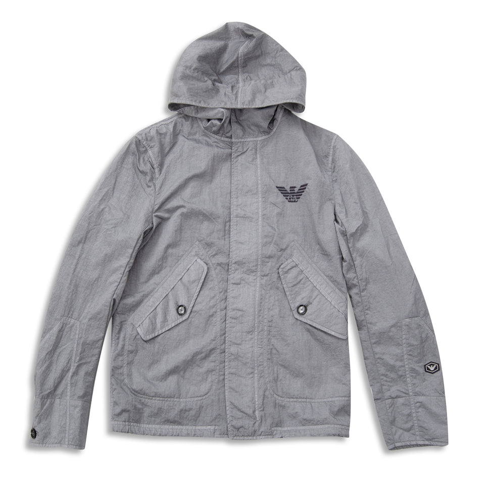 Emporio Armani Windbreaker Jacket - Grey
