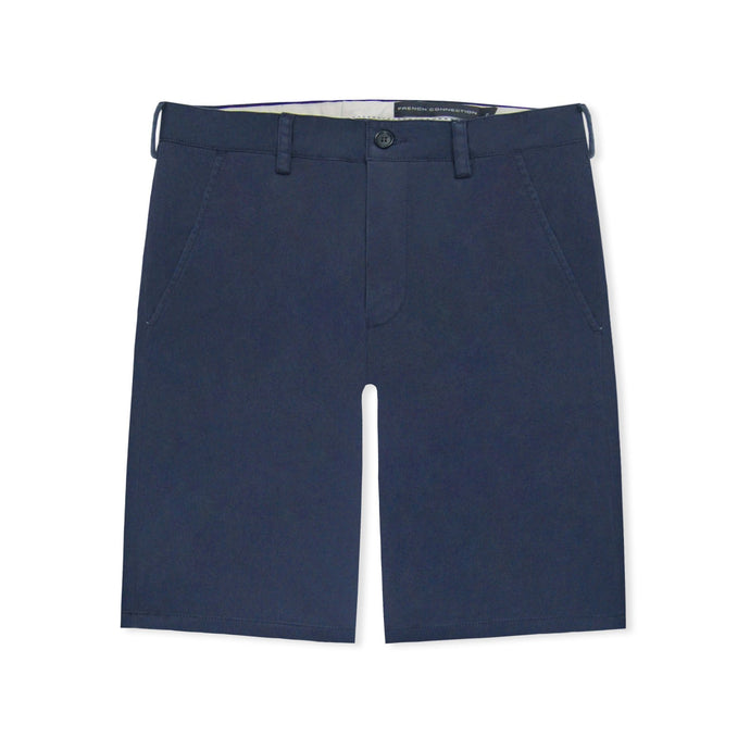 French Connection Marine Blue Chino Shorts