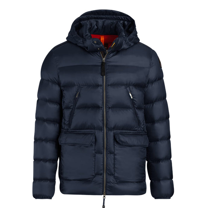 Cadet Blue Parajumpers Gregg Sheen Parka Coat
