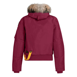 Woman's Maroon PJS Gobi Jacket