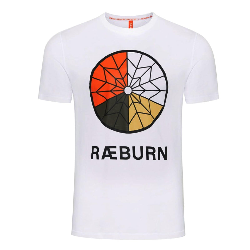 Raeburn Parachute Graphic T-Shirt - White