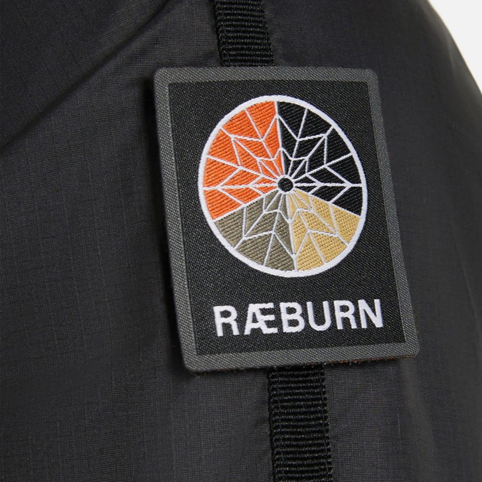 Raeburn Lightweight Hooded Windbreaker - Black