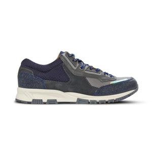 Navy/Grey Mesh Cross Runners