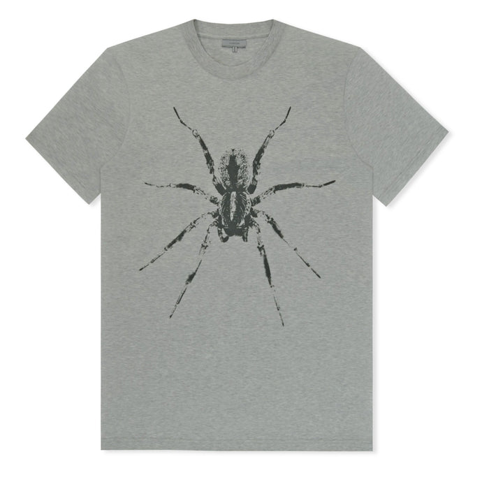 Grey Lanvin Spider Print T-Shirt